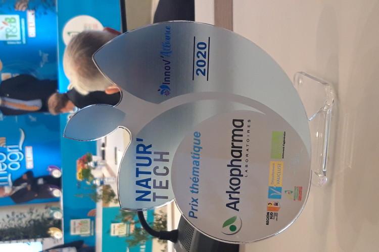 VGD, Laureat du prix Arkopharma au concours national Natur'Tech