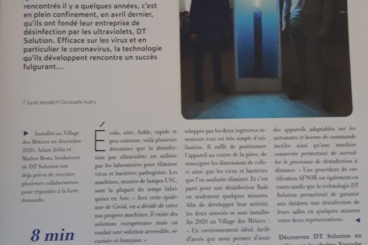 DTS dans Avignon Mag