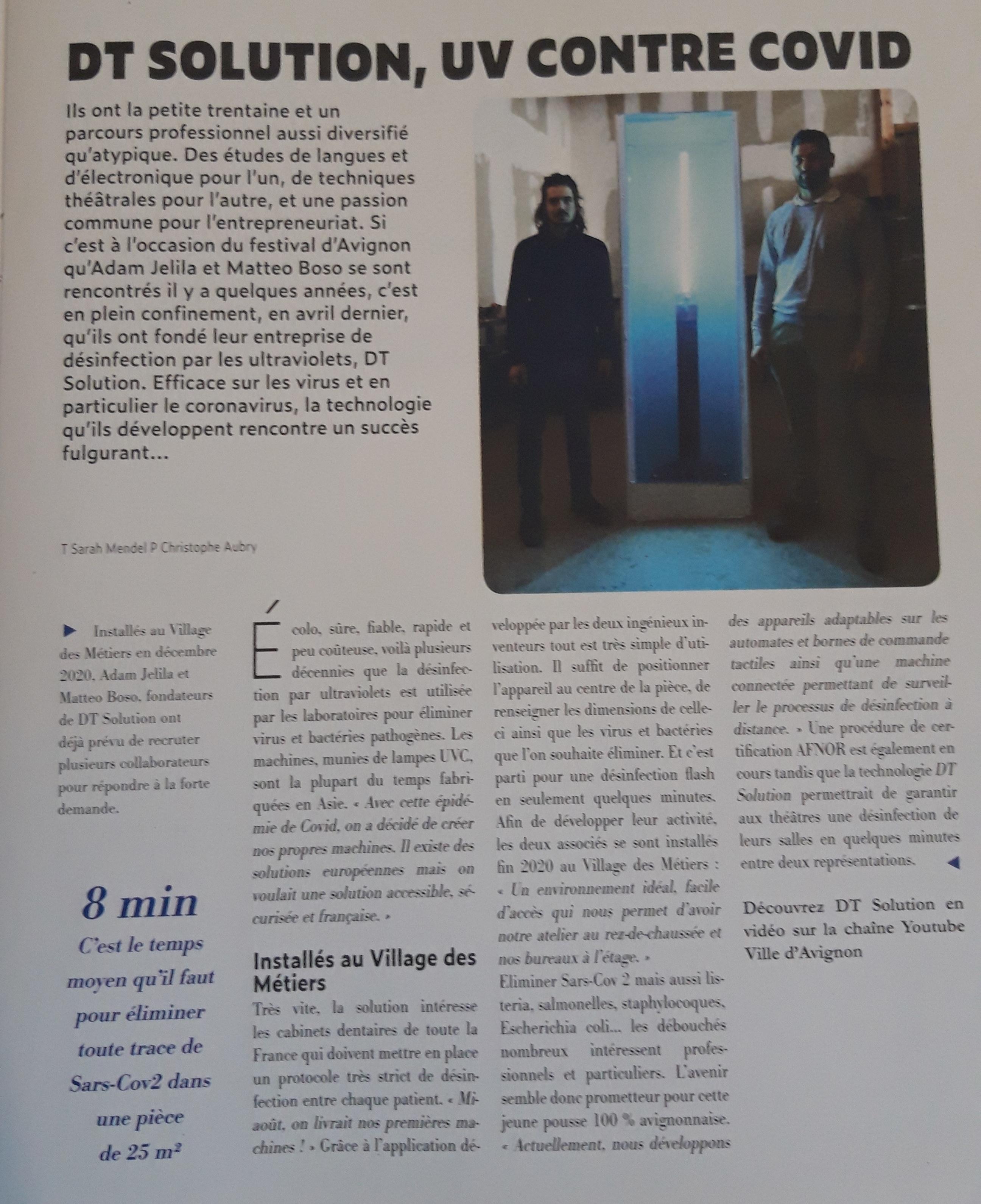 article Avignon mag